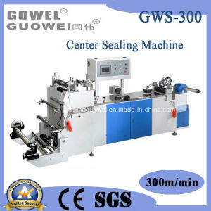 Bag Maker Center Sealing Machine for Film (GWS-300) pictures & photos