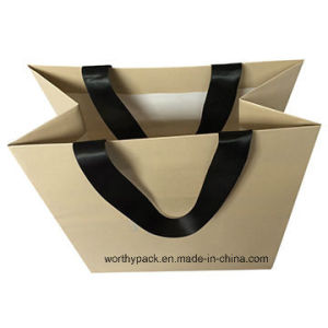Paper Gift Bag for Jewelry Packaging Poupose
