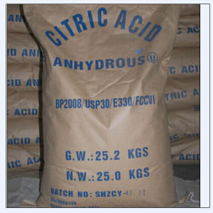 High Qualty Citric Acid Bp98/E330 for Food Grade pictures & photos