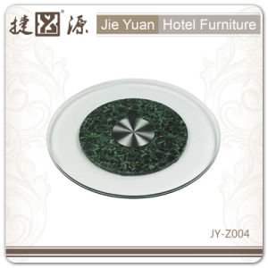 Restaurant Glass Turntable Lazy Susan (JY-Z06) pictures & photos