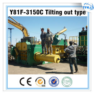 Y81f-3150 Hydraulic Scrap Metal Baling Press Machine pictures & photos