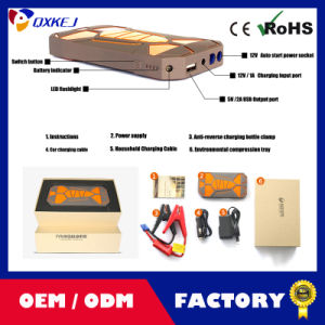 6000mAh 12V Fashion Car Emergency Power Supply Auto Jump Starter Charger pictures & photos