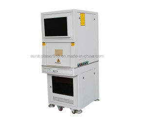 Stainless Steel Tools and Parts Laser Marking Machine/Automatic Laser Marking System pictures & photos