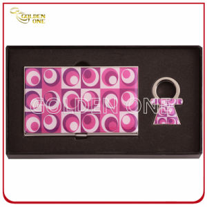 Novel Epoxy Coating Metal Card Case & Key Holder pictures & photos