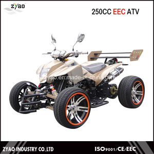 250cc Street Legal EEC Racing Quad ATV with 12inch/14inch Alloy Wheel Water Cooled pictures & photos