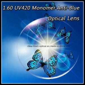 1.60 UV420 Monomer Anti Blue Optical Lens