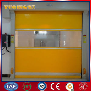 Industrial PVC High Speed Rolling Door for Warehouse (YQRD0105)