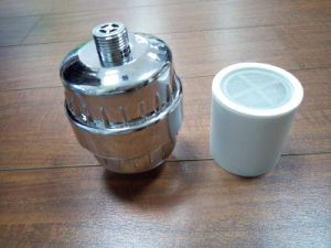 Electroplated Shower Filter Chlorine-Removing Filter pictures & photos