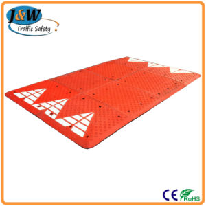 Vehicle Road Safety Plastic Speed Cushion pictures & photos