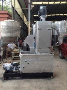High Quality Low Noise Plastic Dewatering Machine pictures & photos