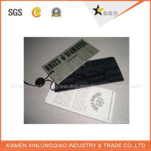 High Quality Custom Perfect Printing Perforated Hang Tag pictures & photos