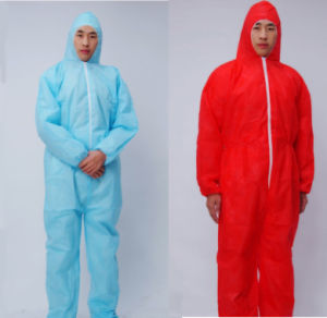 High Quality Disposable Nonwoven Coverall pictures & photos