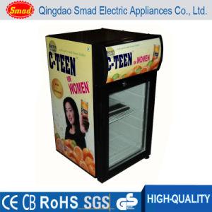 Energy Drink Display Refrigerator Counter Top/Table Top Portable Mini Fridge