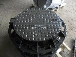 Sanitary Sewer Cast Iron Stormdain Manhole Covers En124