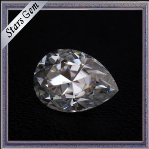 G-H Color Vvs Pear Shape Diamond Cut Moissanite pictures & photos