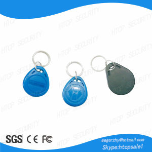 Contactless Waterproof Em4100 RFID Key Fobs pictures & photos