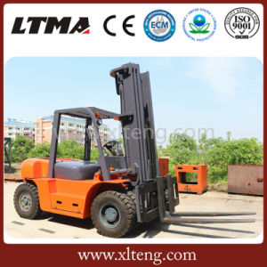 Brand New 6 Ton Diesel Forklift Price with Customized Color pictures & photos