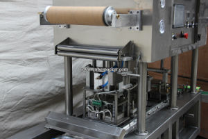 Automatic Boba Tea Cup Sealing Machine pictures & photos