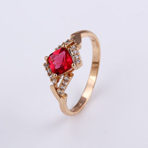 Top Design Beautiful Crystal Gold Jewelry Finger Ring Design for Women -11824 pictures & photos