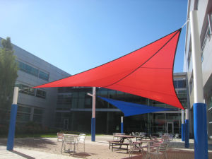 High Quality Low Price HDPE Sunshade Sail for Mall Leisure (Manufacturer) pictures & photos