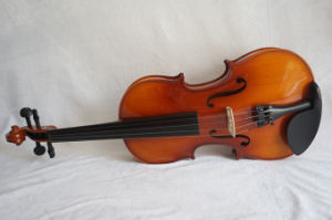 Sinomusik All Solid Pirmary Antique Student Violin pictures & photos