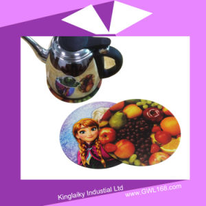 Heat Transfer Silicone Coaster for Corporate Gift P016-016 pictures & photos