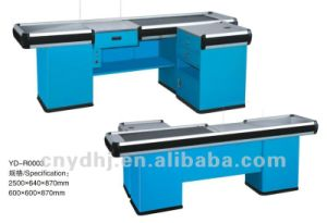 Yd Wholesale High-Ranking Cashier Counter Desk Table pictures & photos