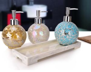 New Product Glass Push Type for Hand Washing, Shower Gel pictures & photos