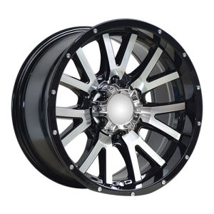 Spokes in V Design Machines Alloy Wheels pictures & photos