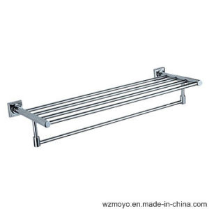 Brass Towel Rack in Chrome Finish pictures & photos