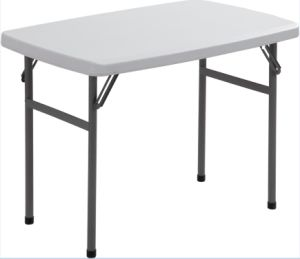 Blow-Molding Rectangle Canteen Plastic Table pictures & photos
