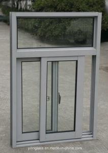 Sliding Opening Laminated Glass Aluminum Sliding Window pictures & photos