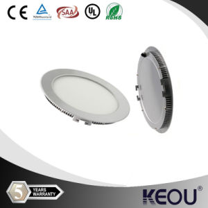 18W Round LED Panel Light 3W 4W 6W 9W 12W 15W 24W Square LED Panel Lights Surfacemounted pictures & photos