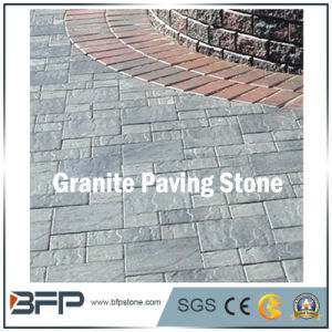 Cobble Stone on Mesh Sheet, Granite Cobblestone, Cube Stone for Garden Outside pictures & photos