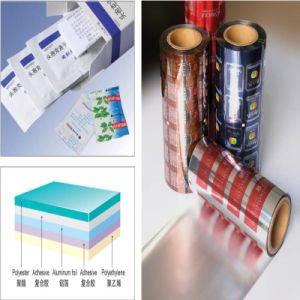 Pet/Al/PE Laminated Strip Pack Aluminum Foil for Sachets pictures & photos
