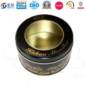 Small Round Tin Candle Tin Containers with Customized Design Printing on The Lid for Candle Holder Tin pictures & photos