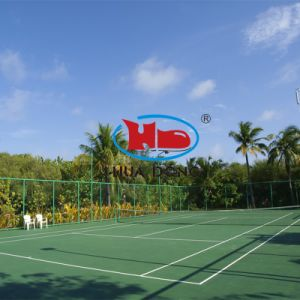 Rubber Flooring Type Sports Floor Mat for Tennis Court pictures & photos