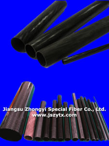High Quality Carbon Fiber Pipe for Industry pictures & photos