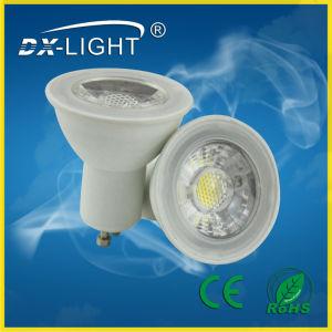Dx0510/6W/GU10/AC20-240V/Plastic&Aluminum LED Spotlight with CE&RoHS