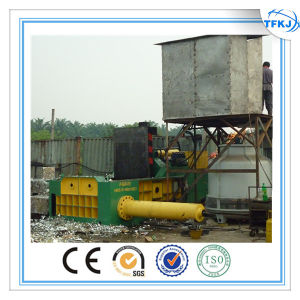 Y81t-2500 Push out PLC Operation Hydraulic Scrap Metal Baler (CE ISO) pictures & photos