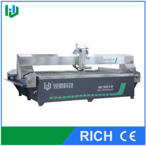 CNC Water Jet Cutting Machine with Bridge Style Cutting Table pictures & photos
