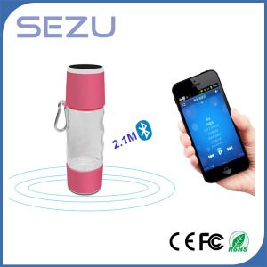 2016 External Water ]Bottle Power Bank with Bluetooth Speaker pictures & photos