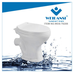 Weidansi Africa Ceramic Wash Down P-Trap Two Pieces Toilet (WDS-T6209)