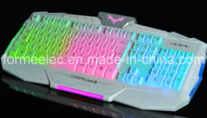High Class Wired Backlighting Keyboard V600b pictures & photos