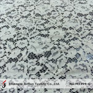Thick Cord Bridal Lace Fabric for Sale (M3399-G) pictures & photos