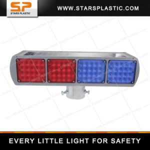SWL-A33-001 Flashing Lights Double Side Solar Traffic Light Solar Powered Portable Traffic Light pictures & photos