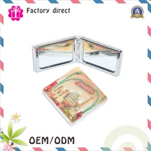 Give Away Logo Printing Foldable Make up Mirror pictures & photos