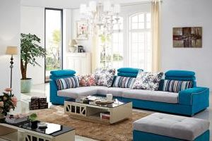 Living Room Corner Sofa, Leisure Sofa Fabric Sofa Lb1031 pictures & photos