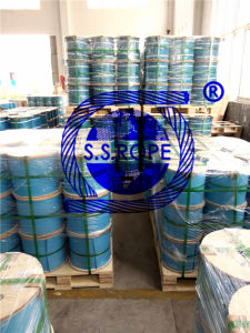 Stainless Steel Wire Rope Hoist Rope, Logging, Cableway