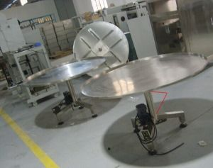 China Automatic Electric Packing Turning Table for Collecting Goods Jy-T pictures & photos